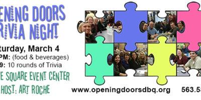 Opening Doors' Trivia Night